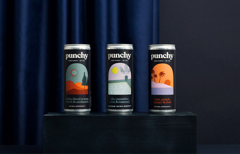 Punchy Drinks Cans
