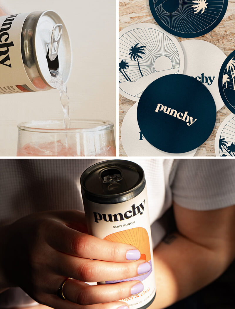A selection of Punchy Products