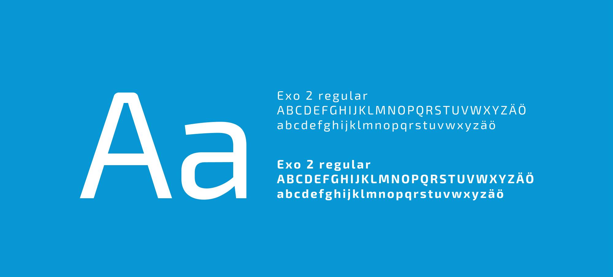 Mainio typography