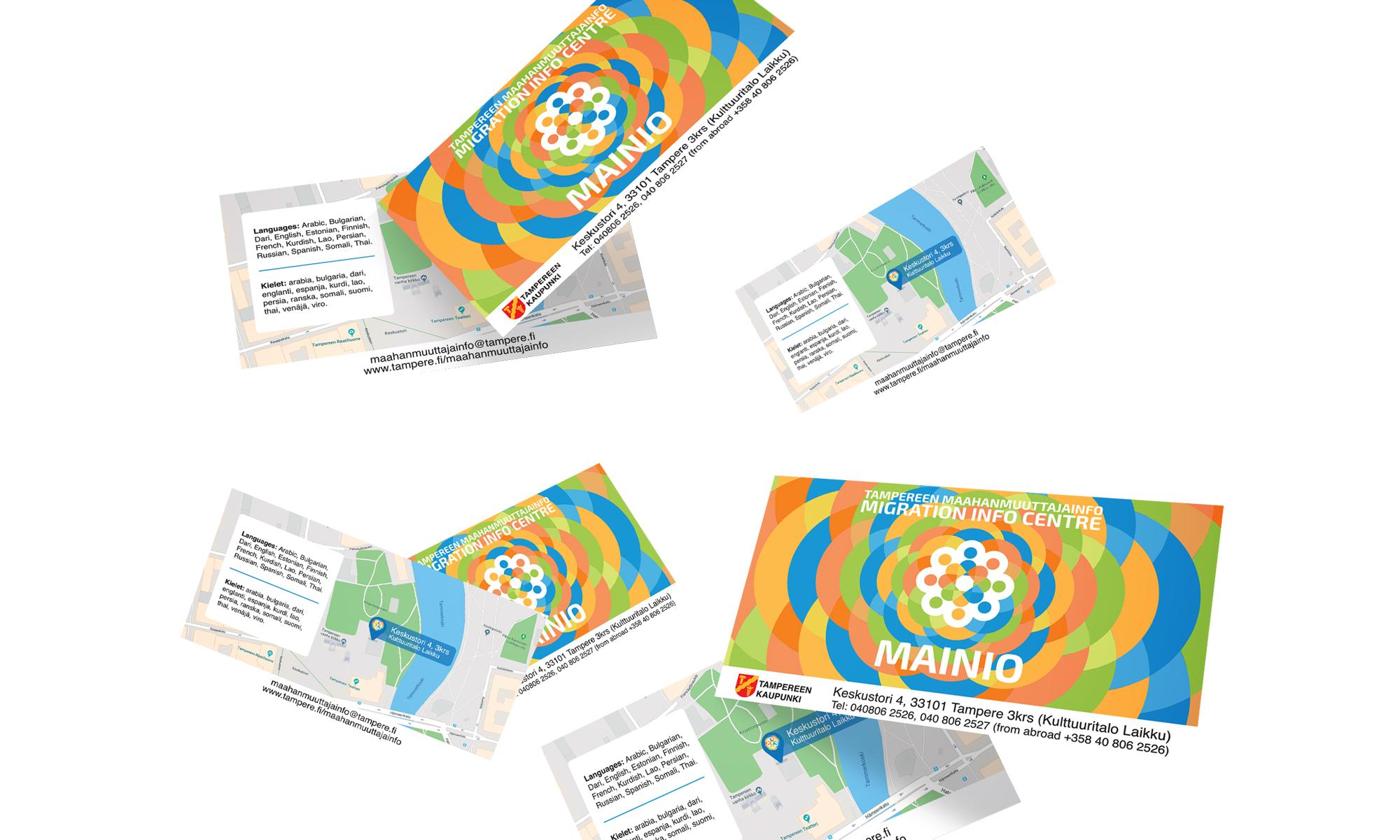 Mainio business cards
