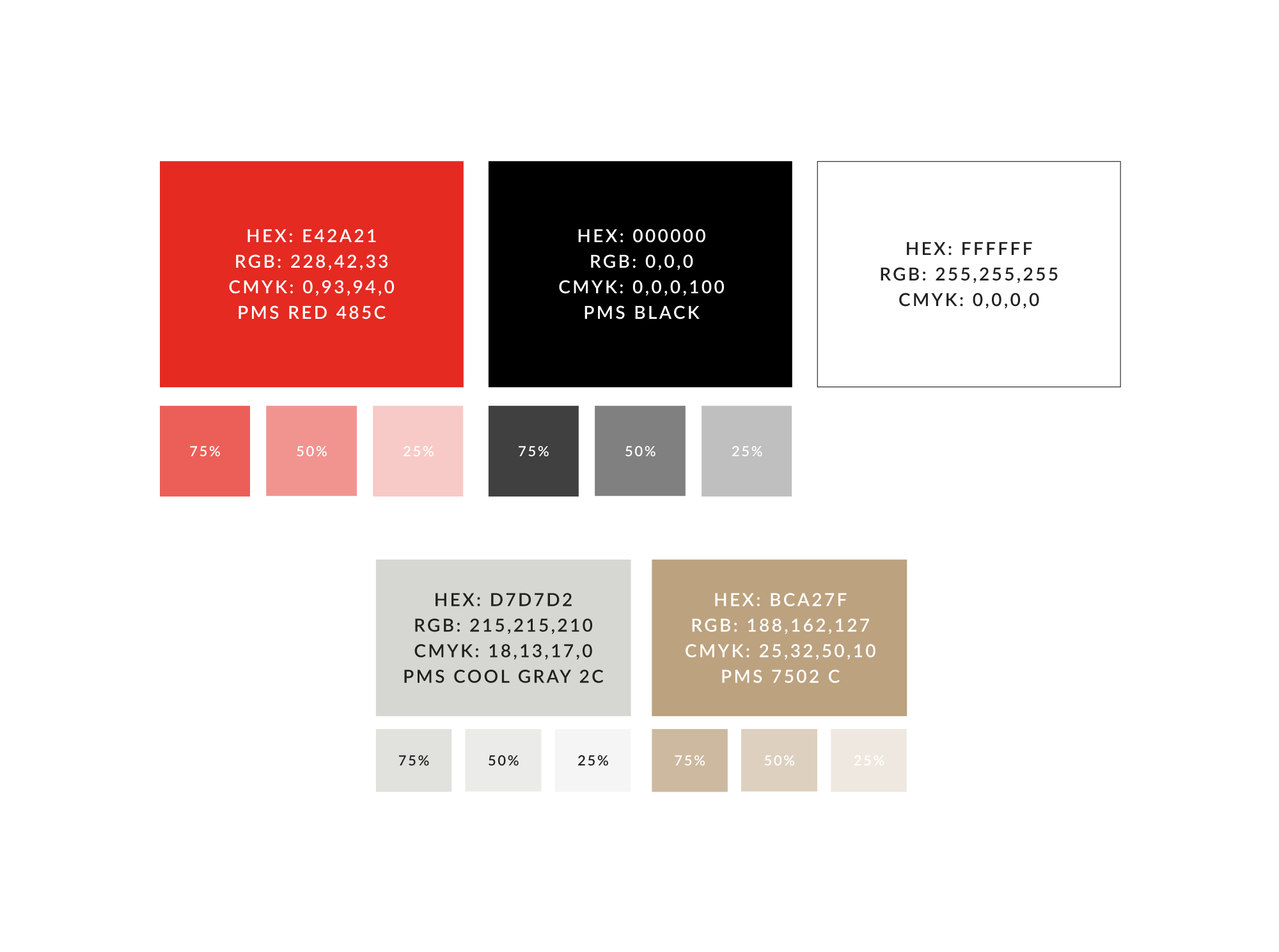Firstbeat color palette