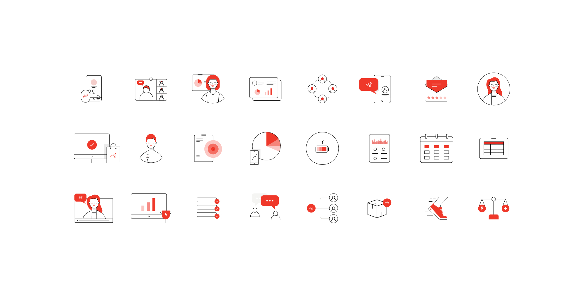 Firstbeat iconography