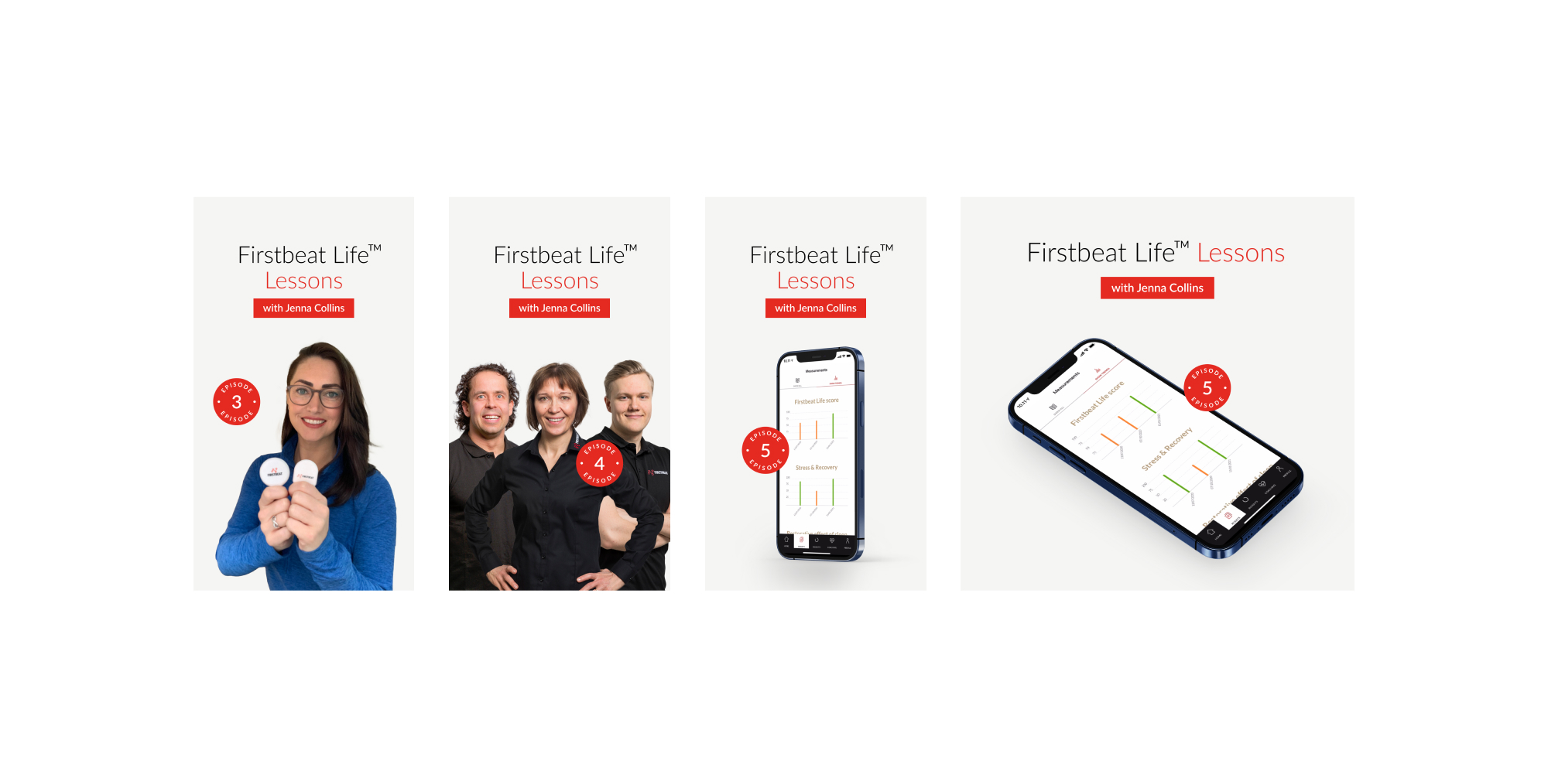 Firstbeat banners