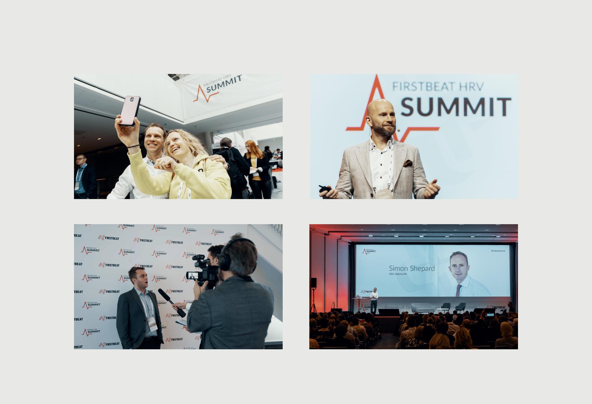 Firstbeat HRV Summit photos