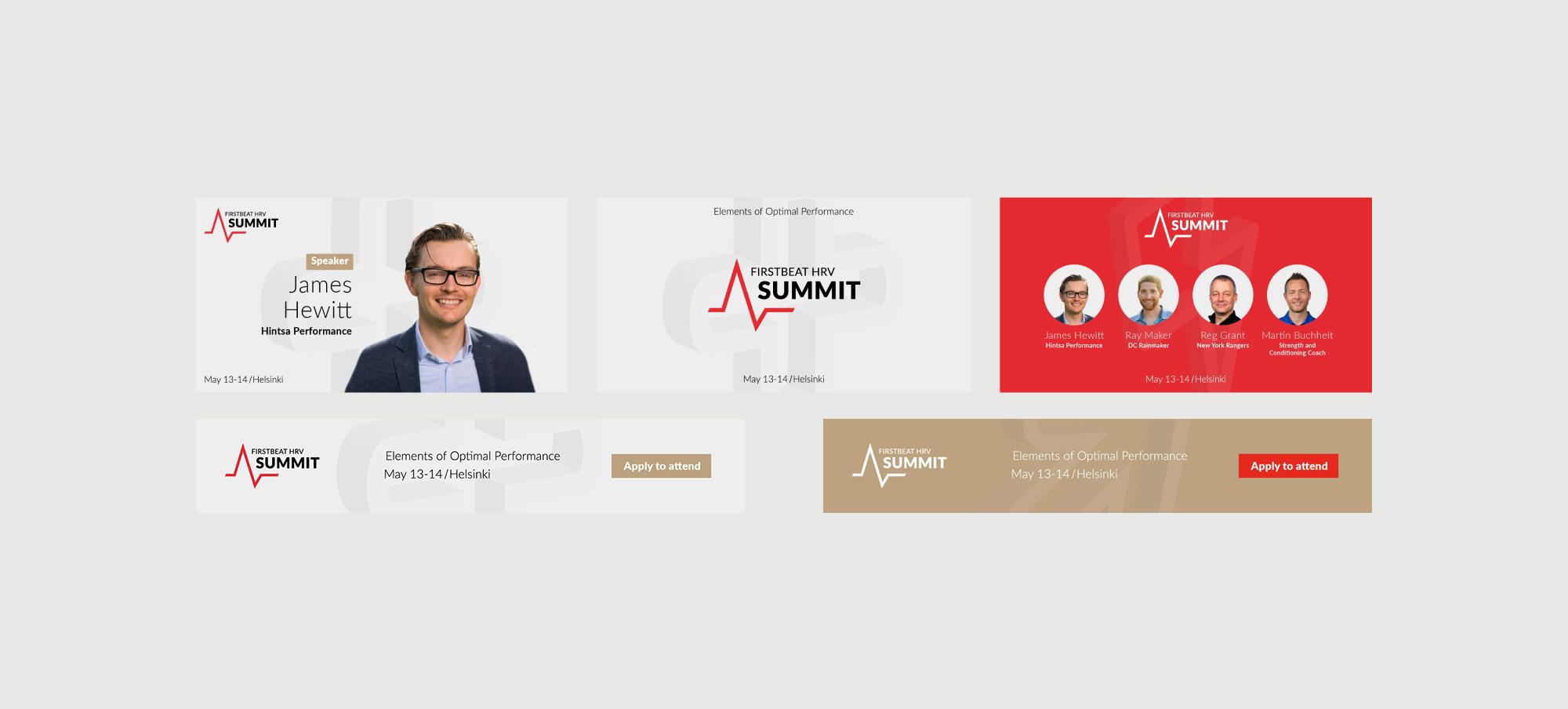 Firstbeat HRV Summit ads