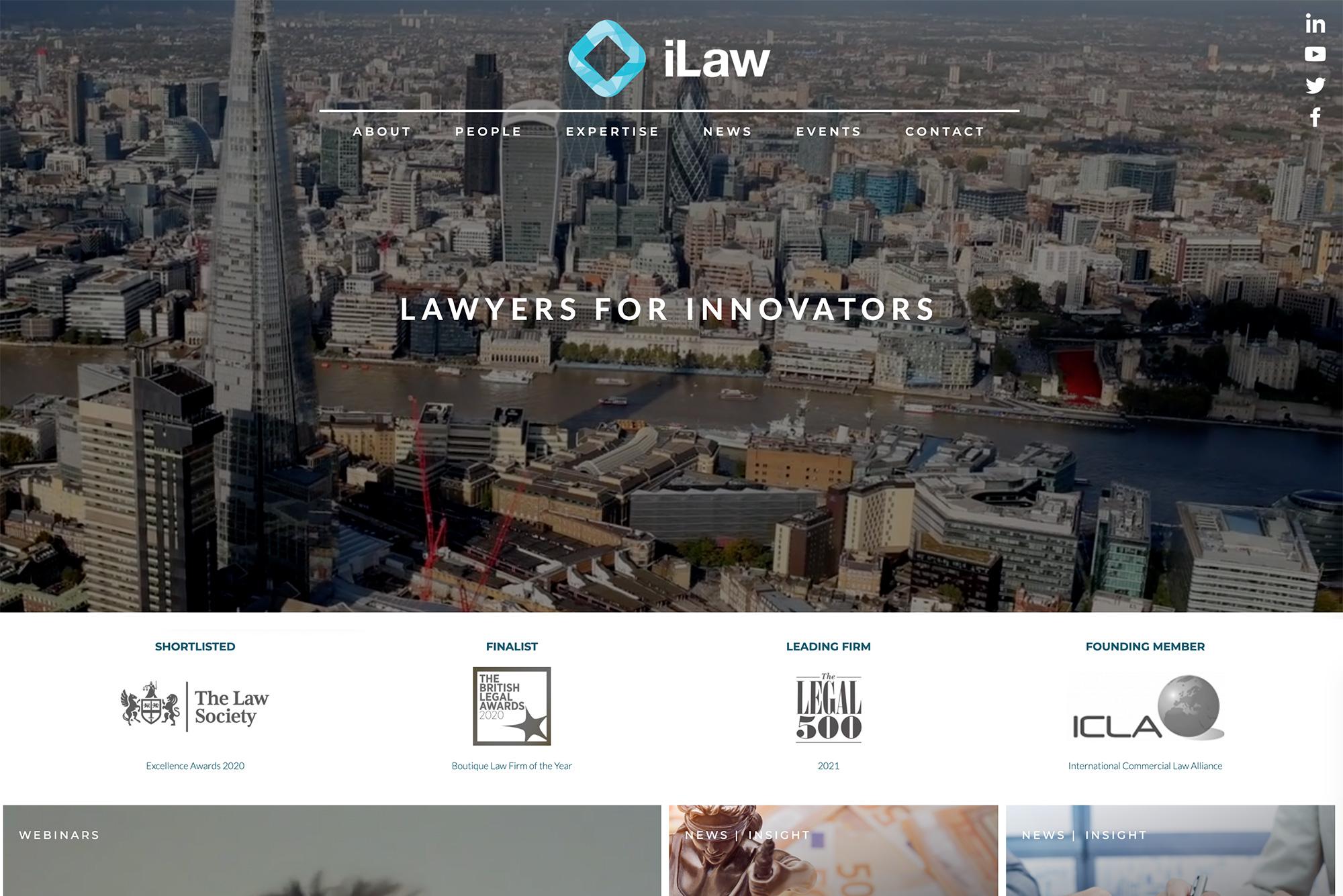 iLaw Web Design
