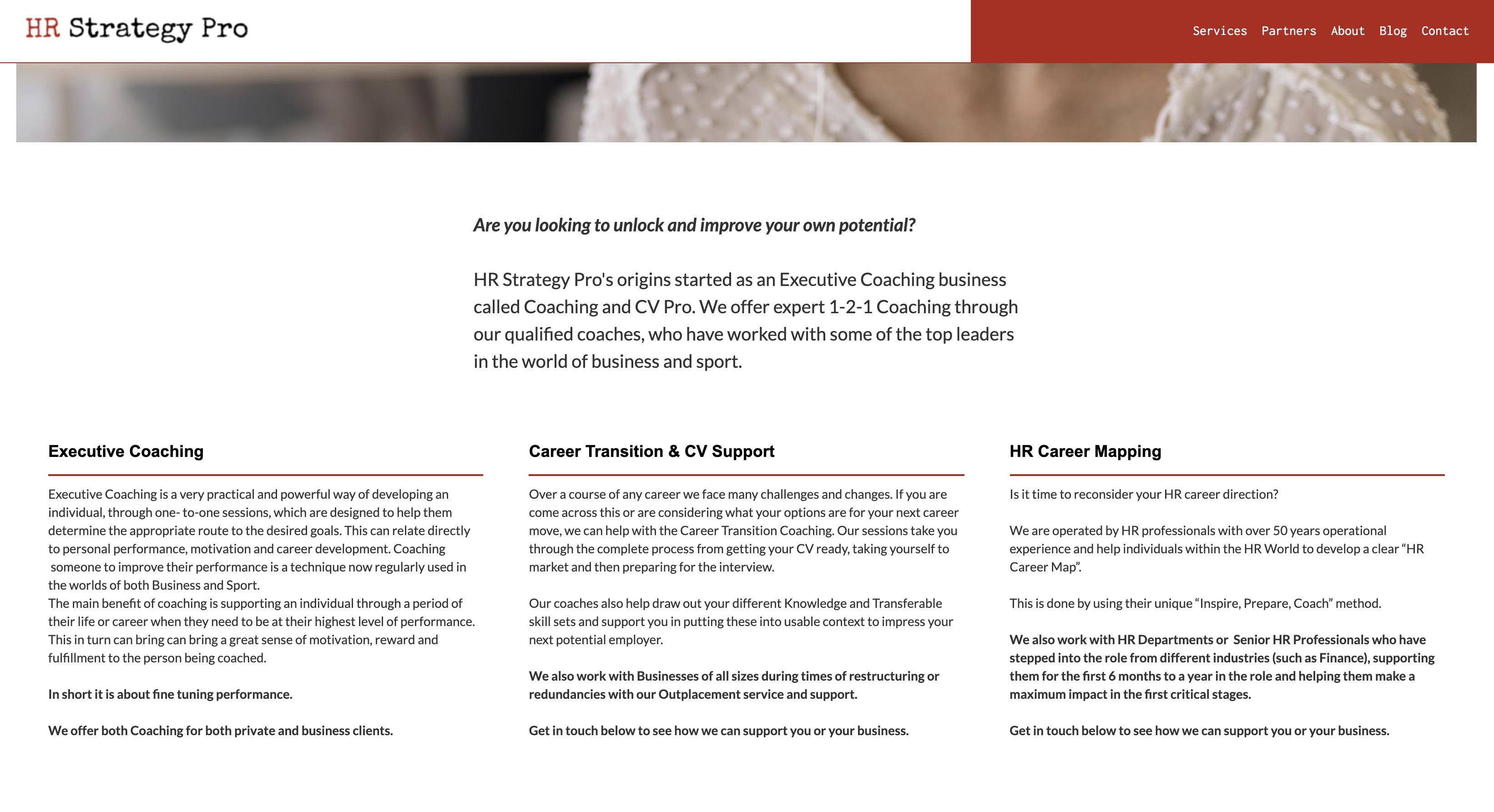 Coaching & CV Pro