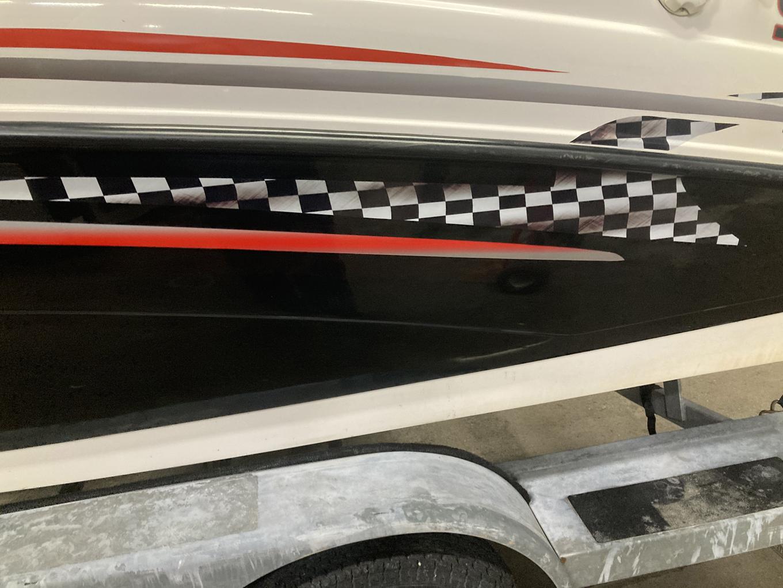 Yamaha Jet Boat after repairs.