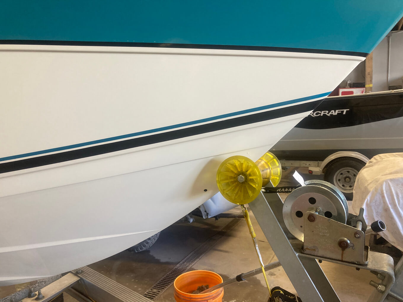 Repaired SeaRay.