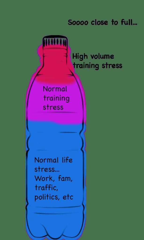 high volume training stress