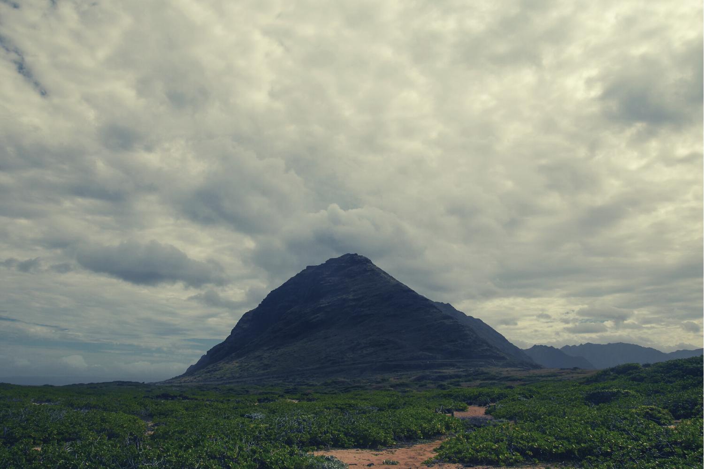 Image of an unknown mountain peak in Hawaii