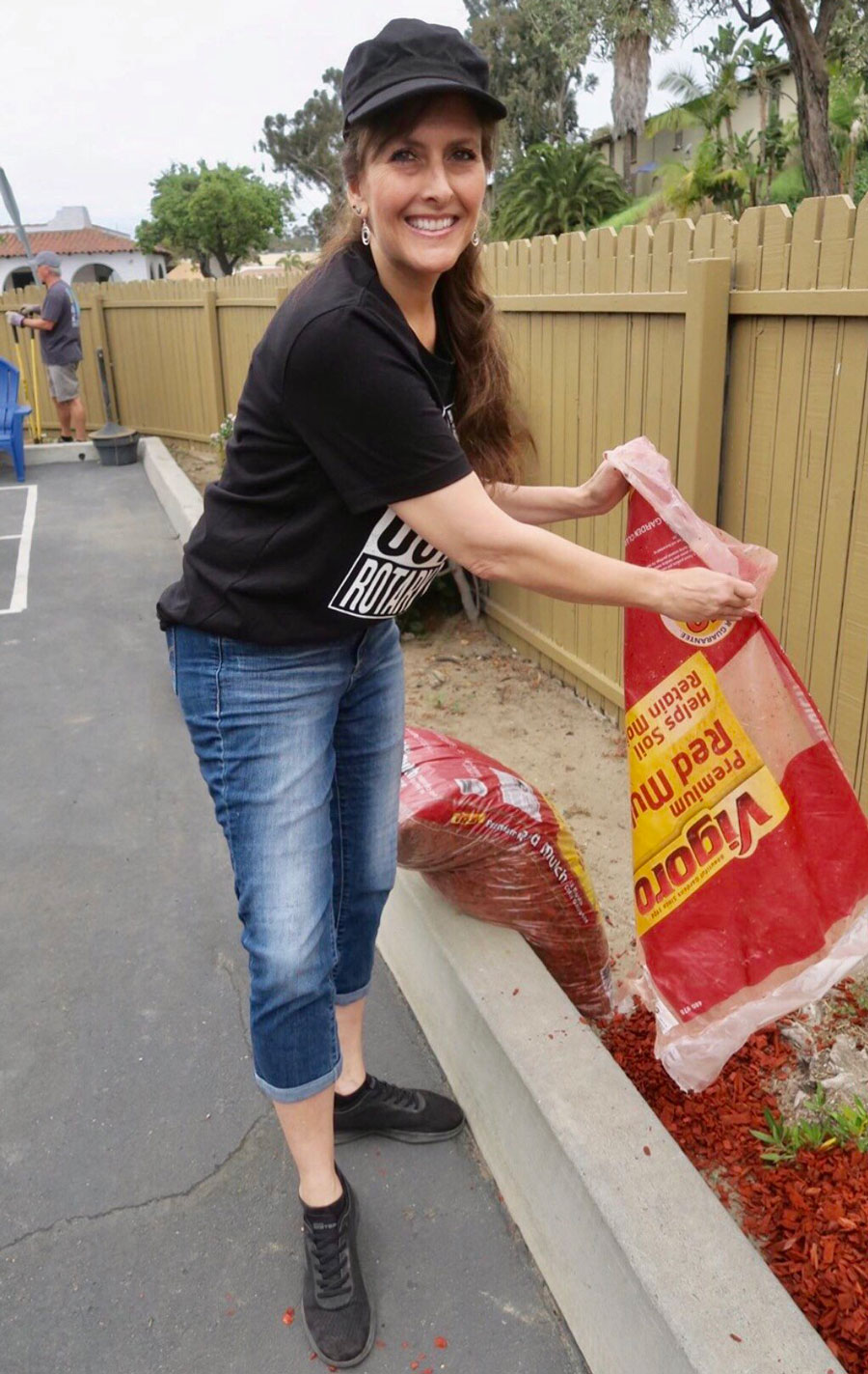 Malena's non profit organization, Giving with Impact, is helping San Diego's most vulnerable