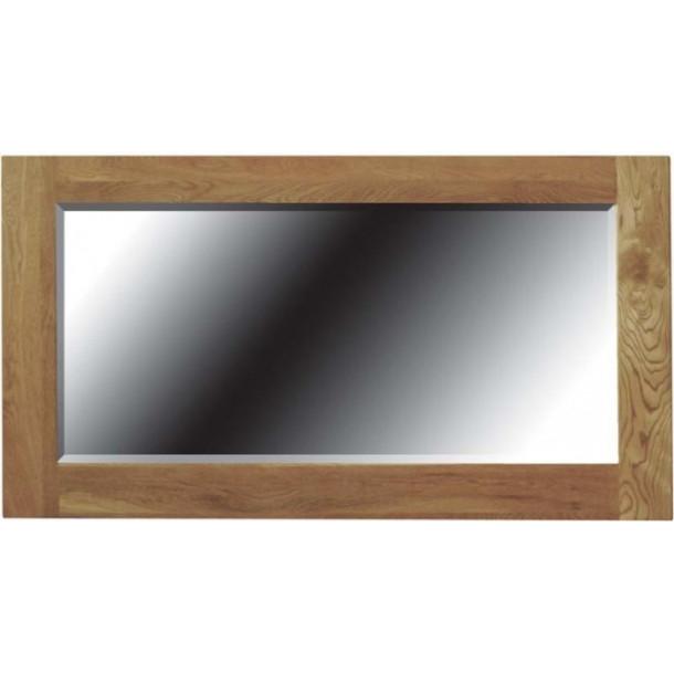 American Oak Framed Mirror