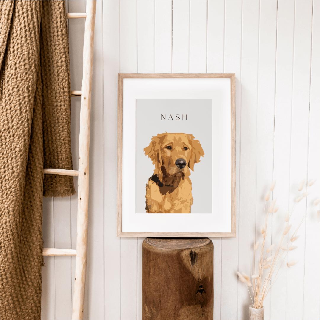Nash Illustration Bloomate Pet Portraits