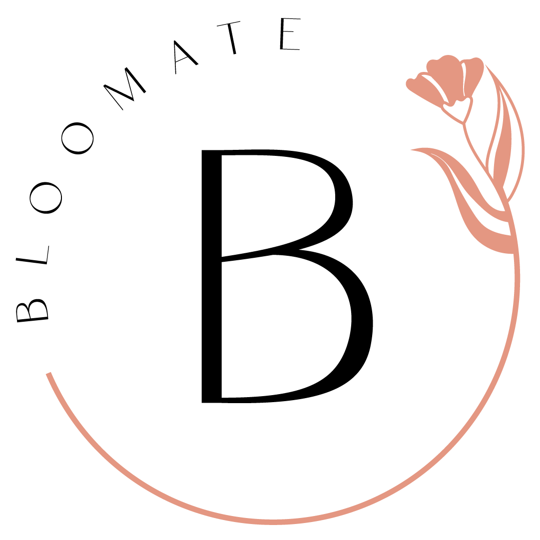 Bloomate Submark Logo - Pink