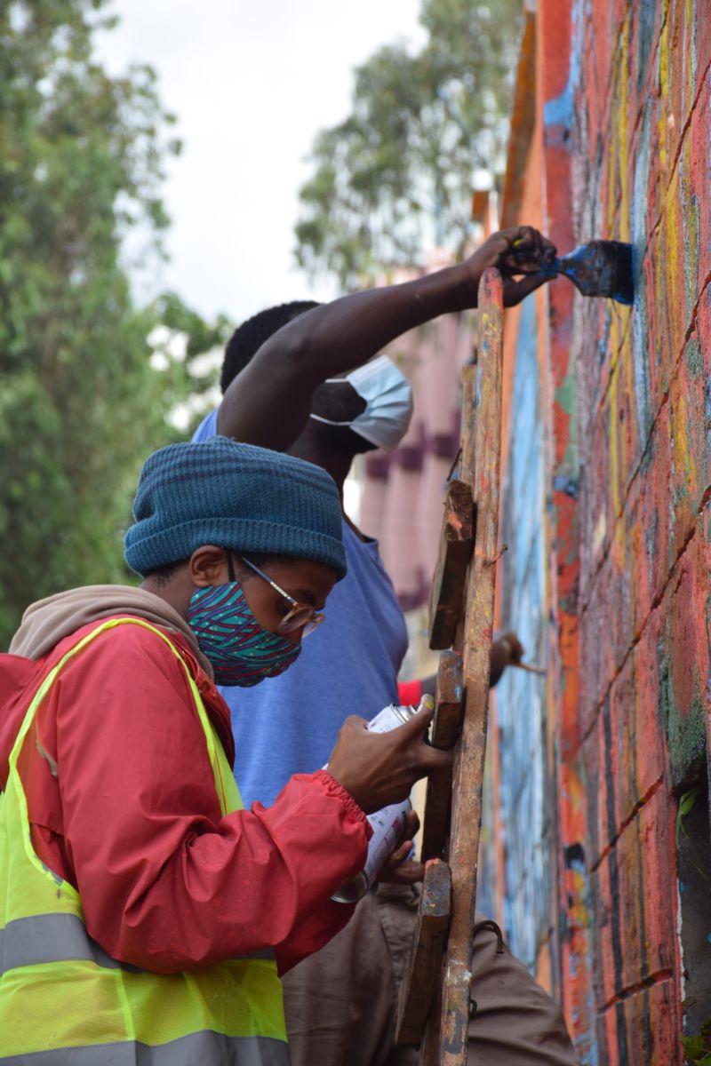photo 1 of murals at nairobi globe roundabout