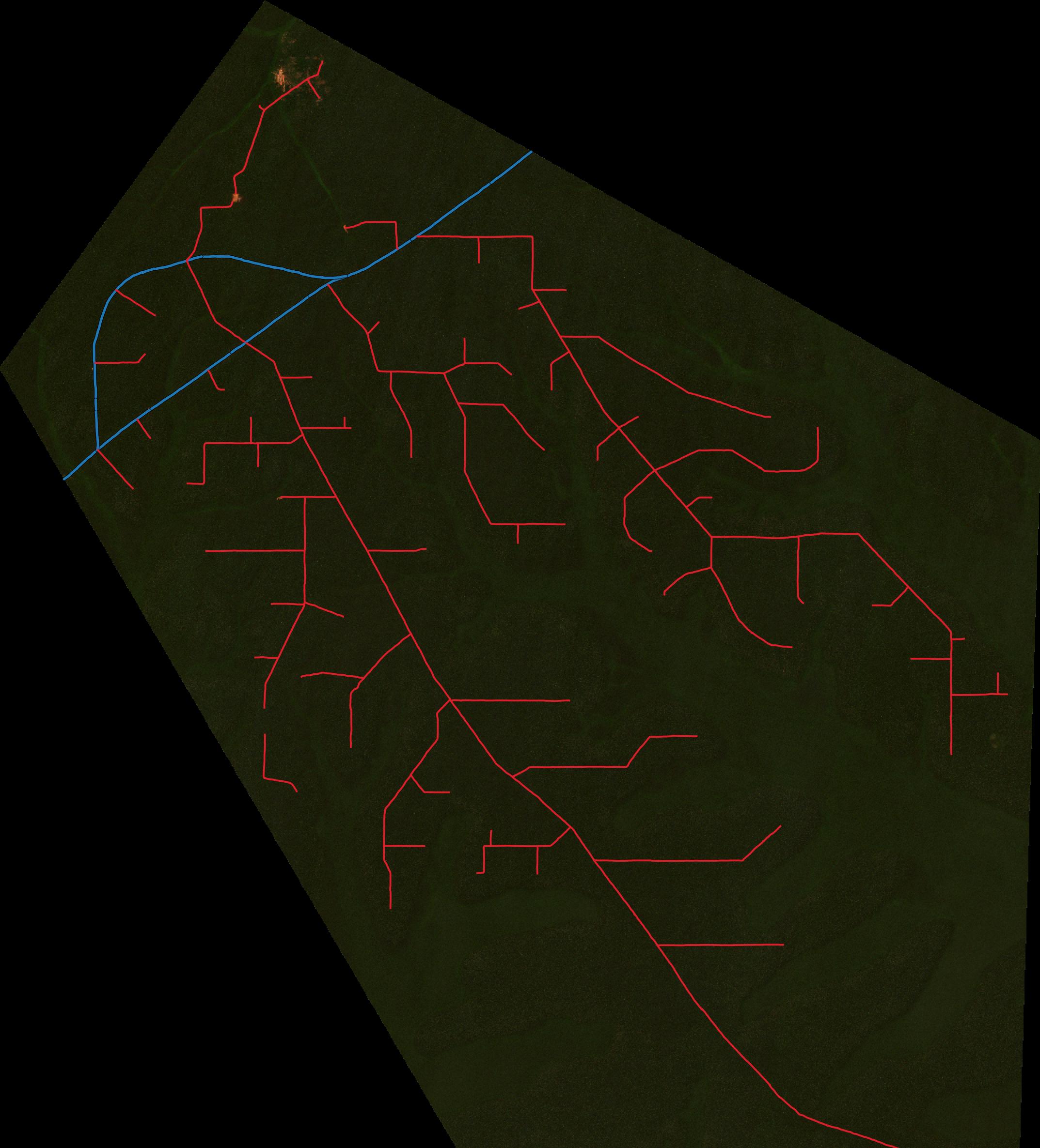 Logging Roads Tracker