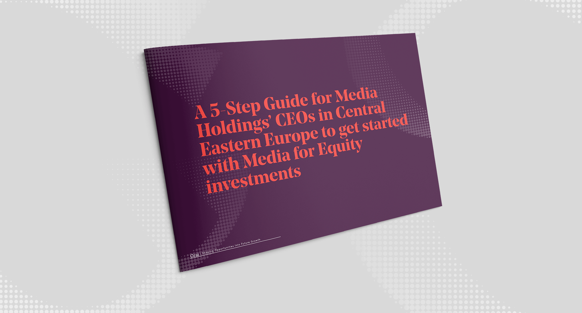 5-Step Guide for Media Holdings' CEOs in Central Eastern Europe to Get Started With Media for Equity Investments