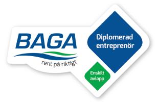 BAGA certifiering Åre Entreprenad