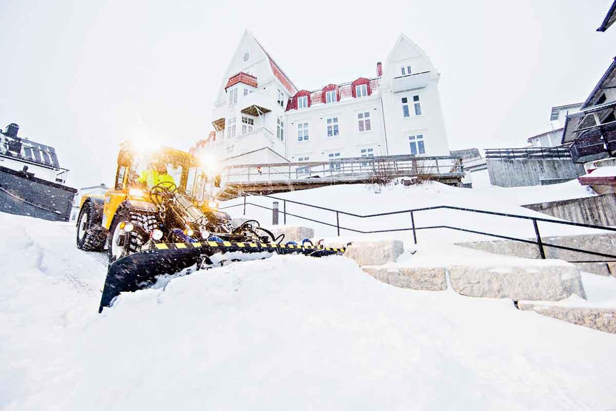 Åre Entreprenad - Snöröjning i Åre Kommun
