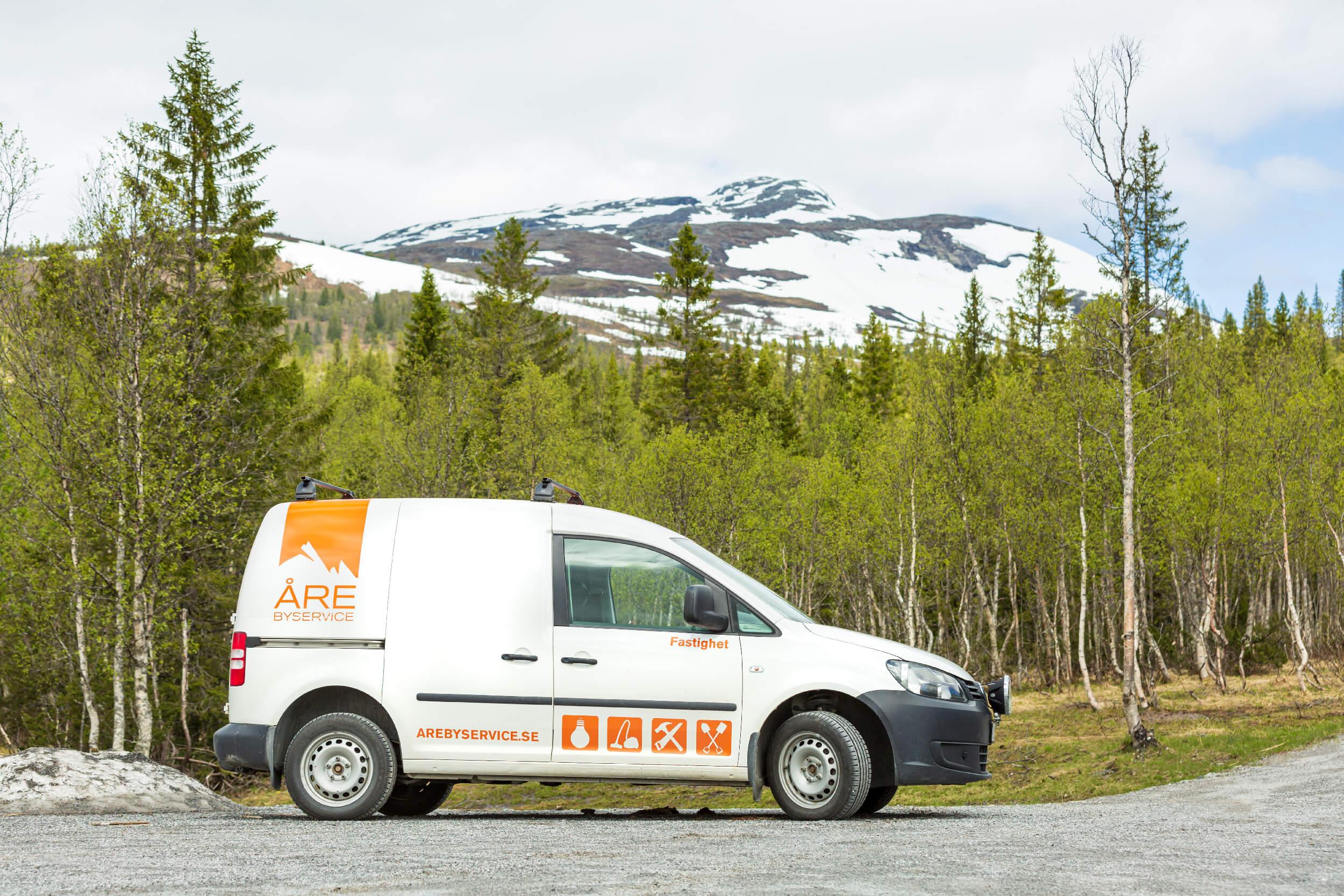 Åre Byservice, marktjänster, städservice och fastighetsservice i Åre Kommun