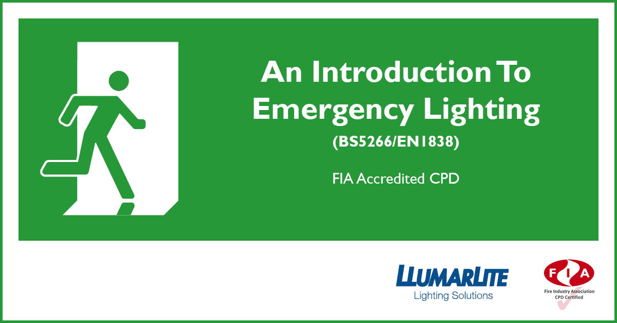 An Introduction to Emergency Lighting (BS5266/EN1838)
