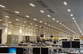 International City Bank Luminaire replacement