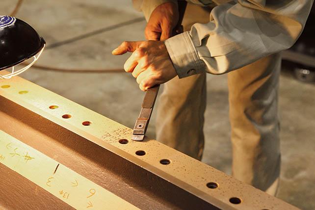 YASDA Core - Hand scraping