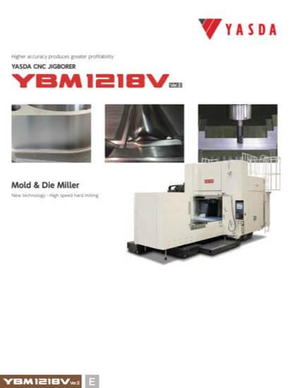 YASDA Maschine Broschure