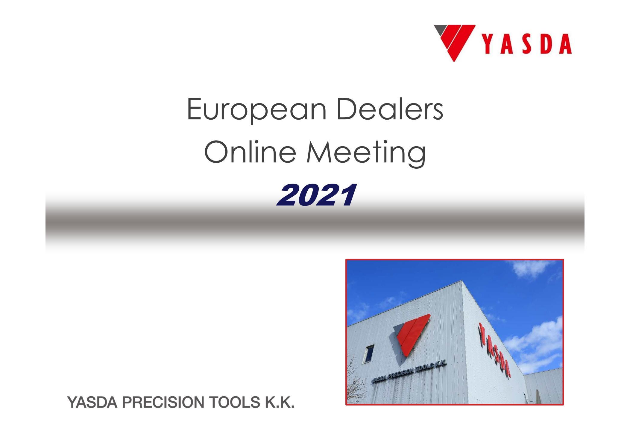 European Online-Dealermeeting 2021
