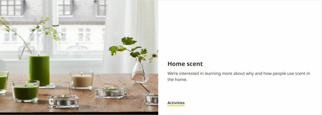Ikea Co Create Scent