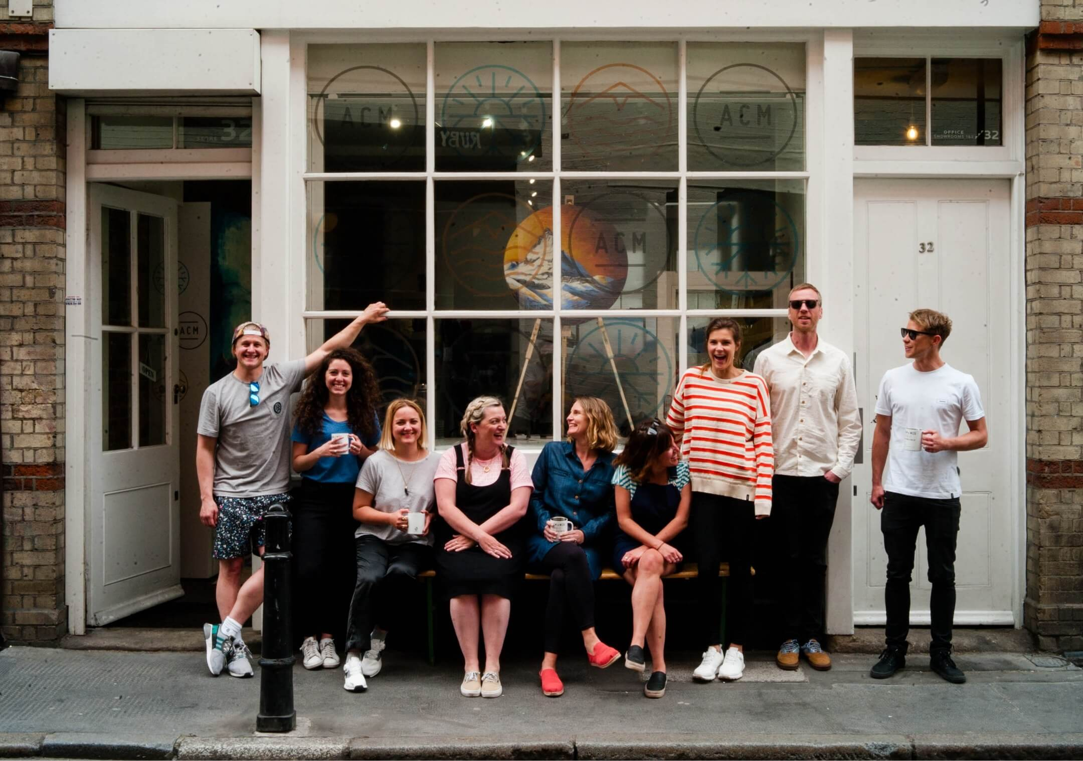 Team at All Conditions Media by Hamish Duncan on Leica M Series