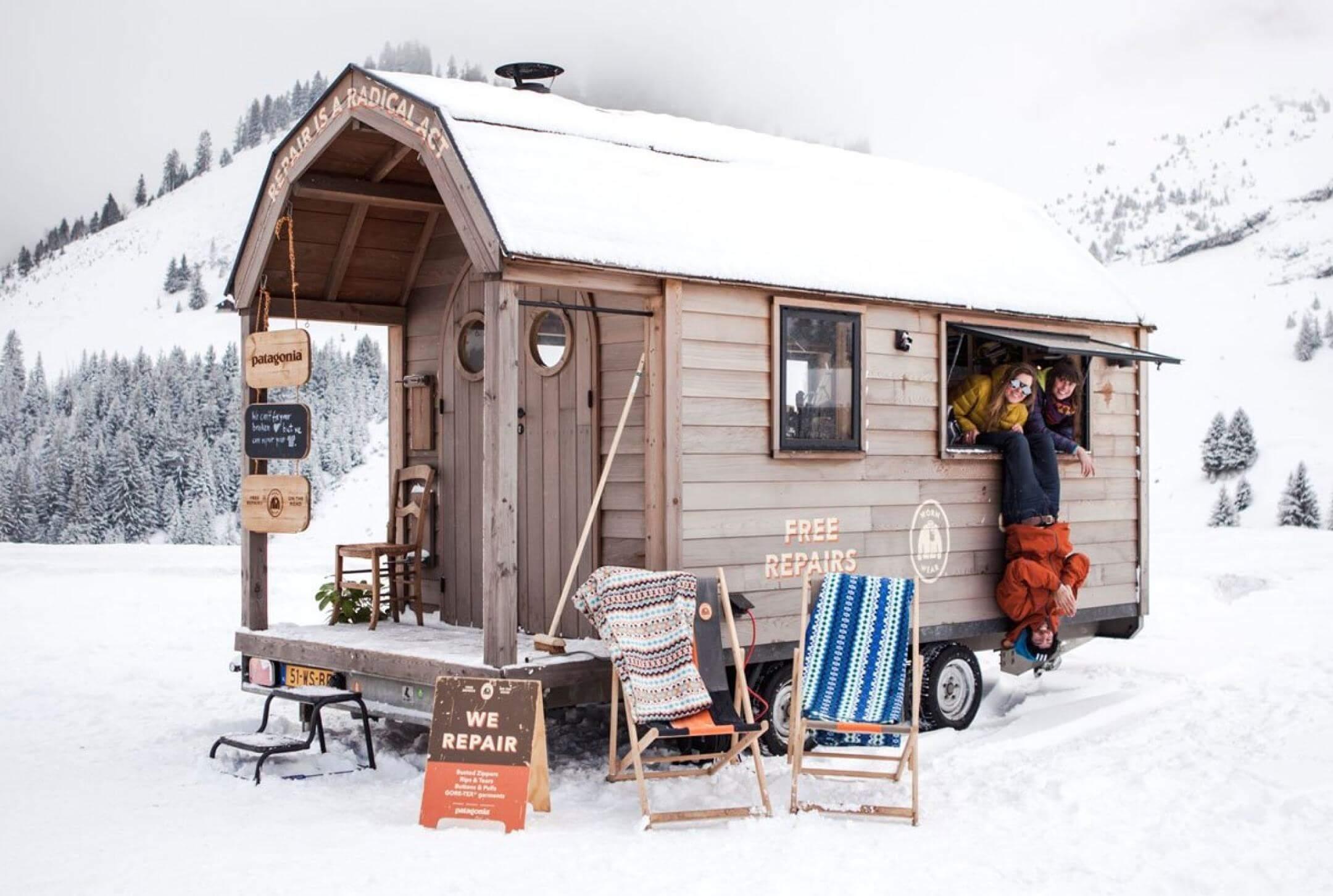 Patagonia WornWear European Snow Tour