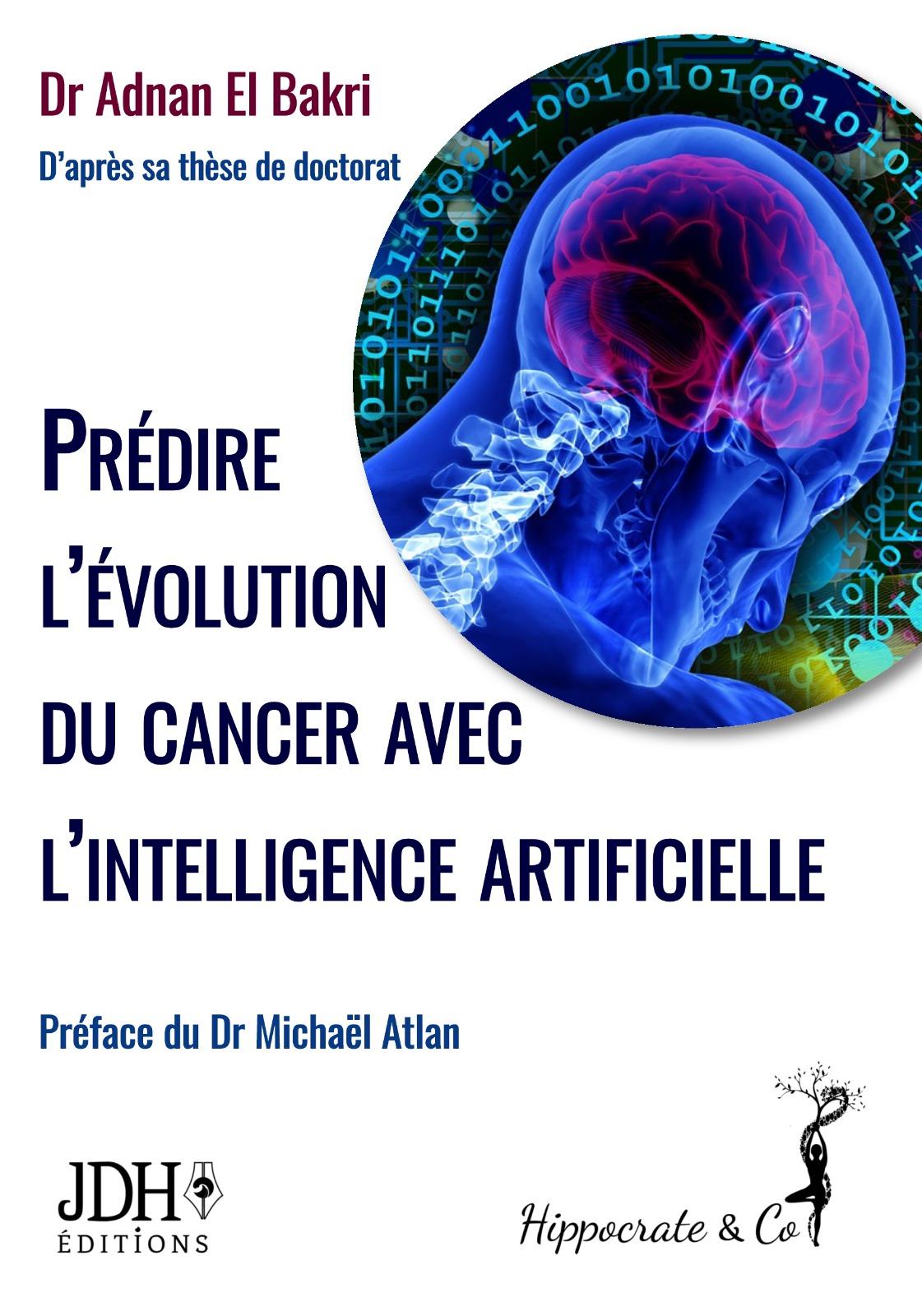 Prédire l'évolution du cancer avec l'intelligence artificielle - 1ère de couverture