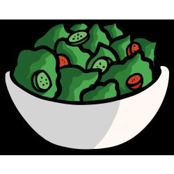 nerdish salad