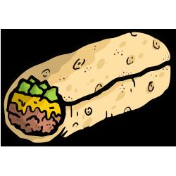 nerdish burrito
