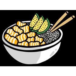 nerdish poké bowl