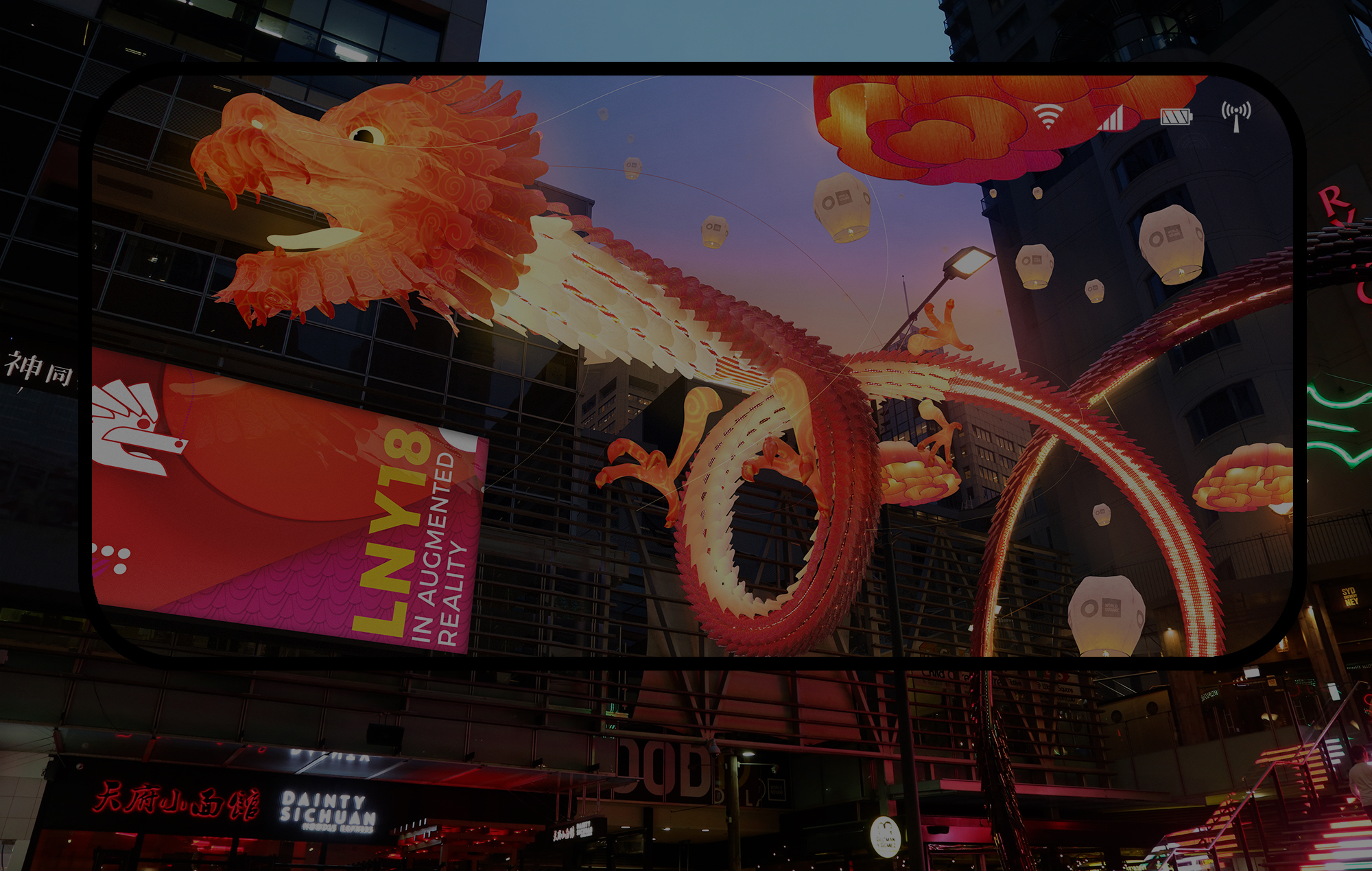 Augmented Reality Dragon for retail innovation