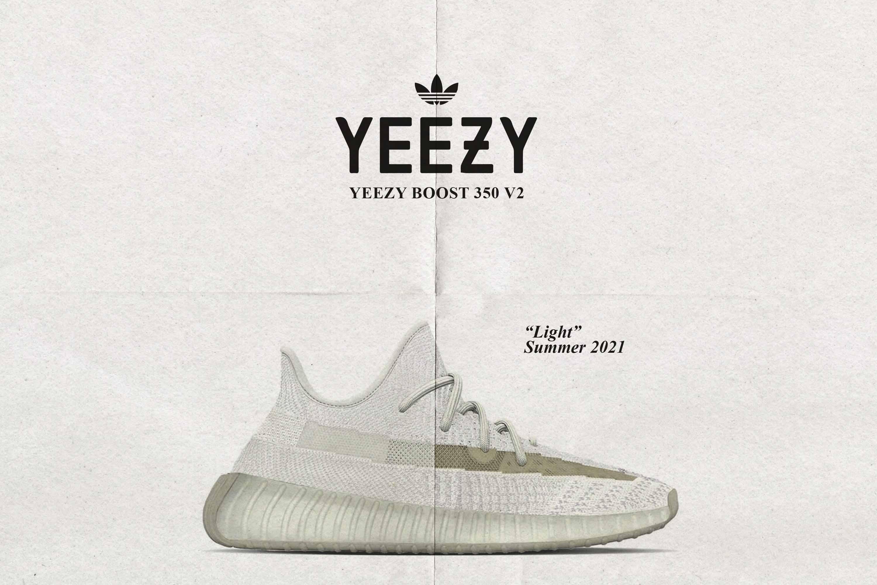 Yeezy Boost 350 V2 'Light'