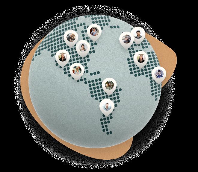 Caring global community