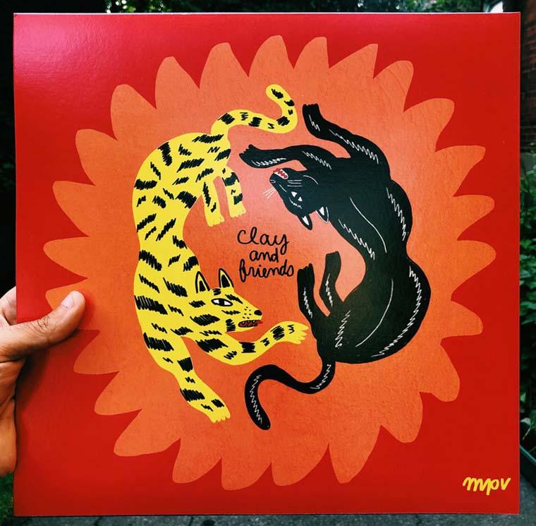 Record Vinyl x Grouillades
