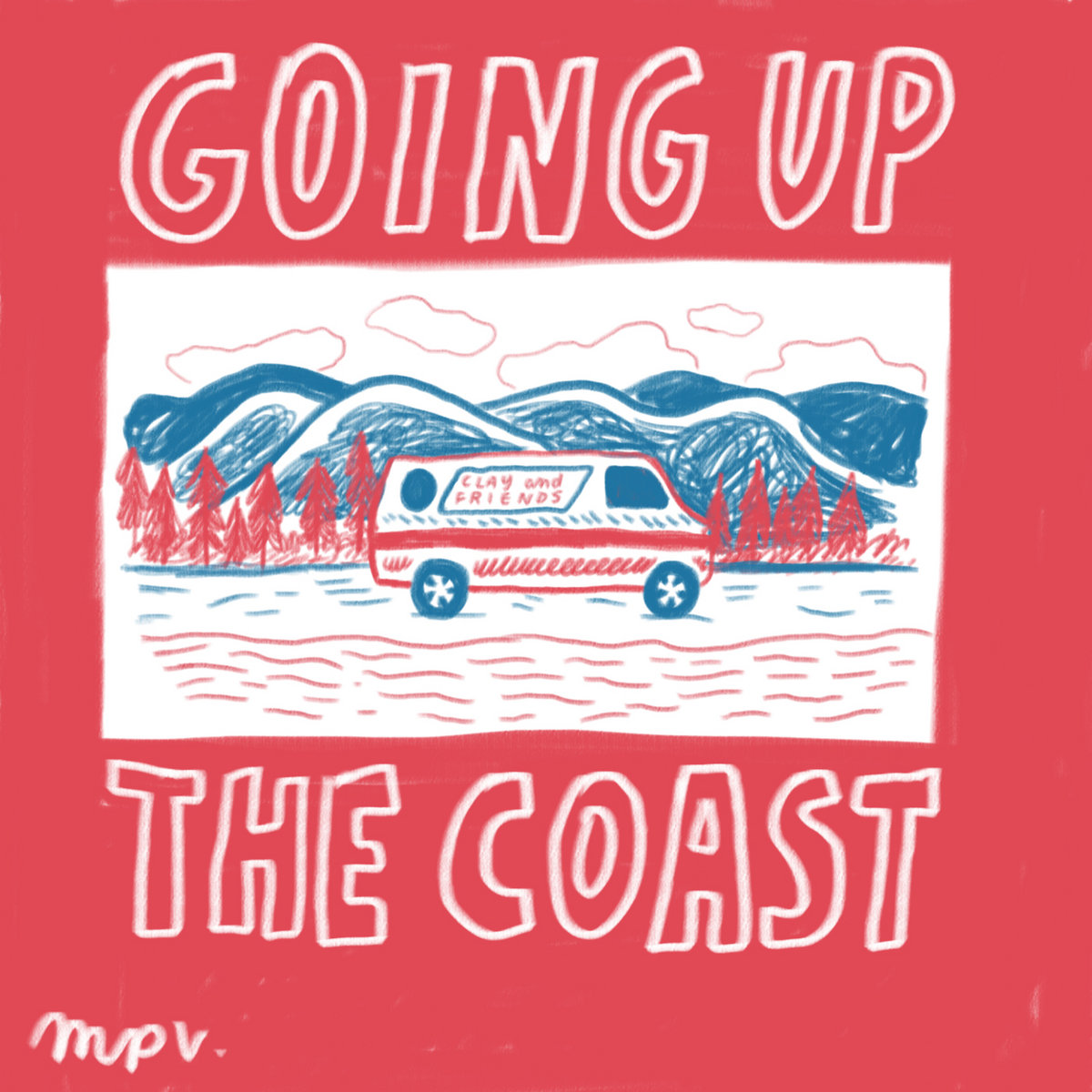 Going Up The Coast