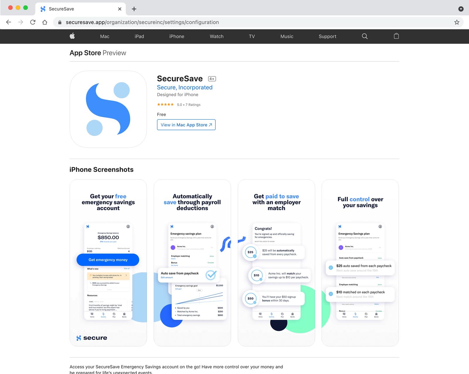 Custom Built Employee App