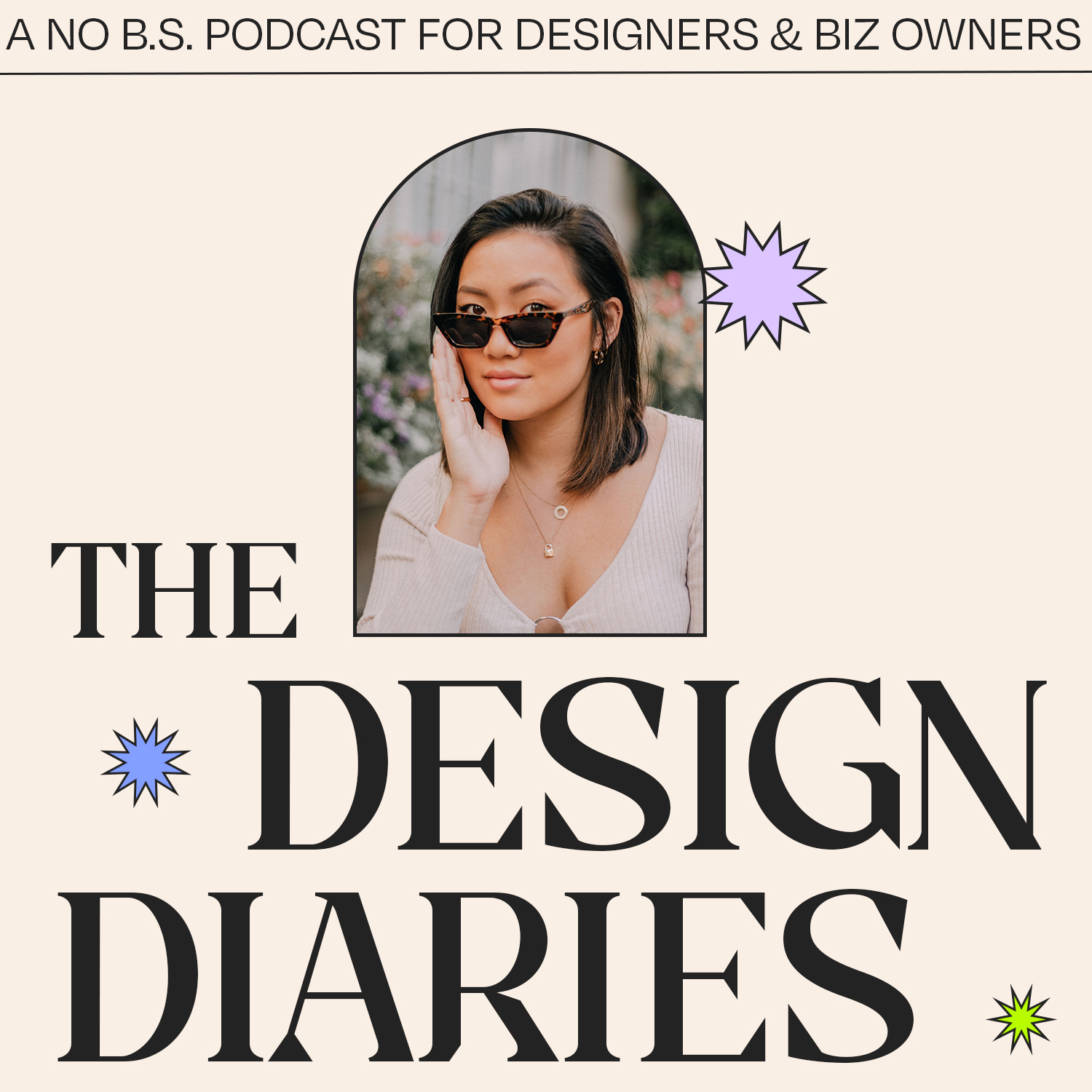 The design diaries podcast cover