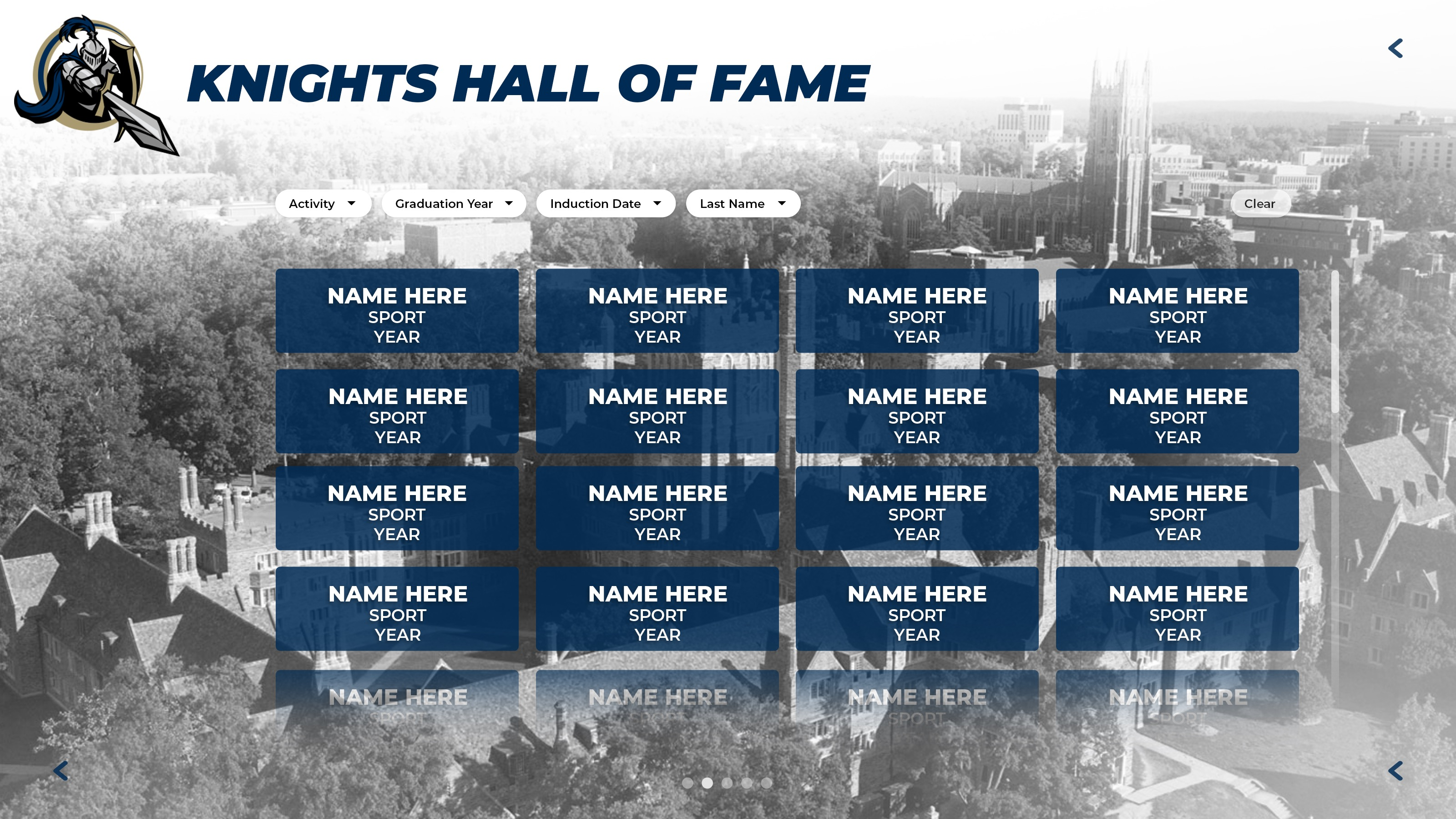 Digital Sports Hall of Fame
