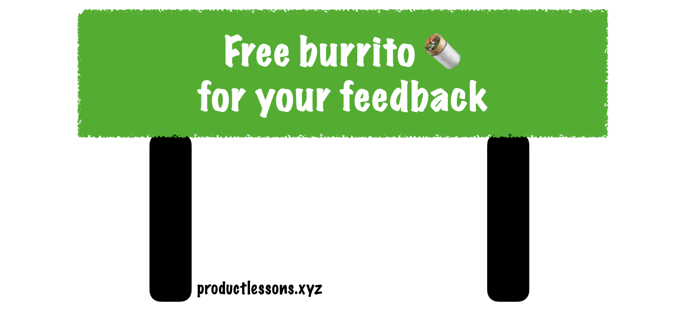 Shaan Puri's Burrito for feedback trick