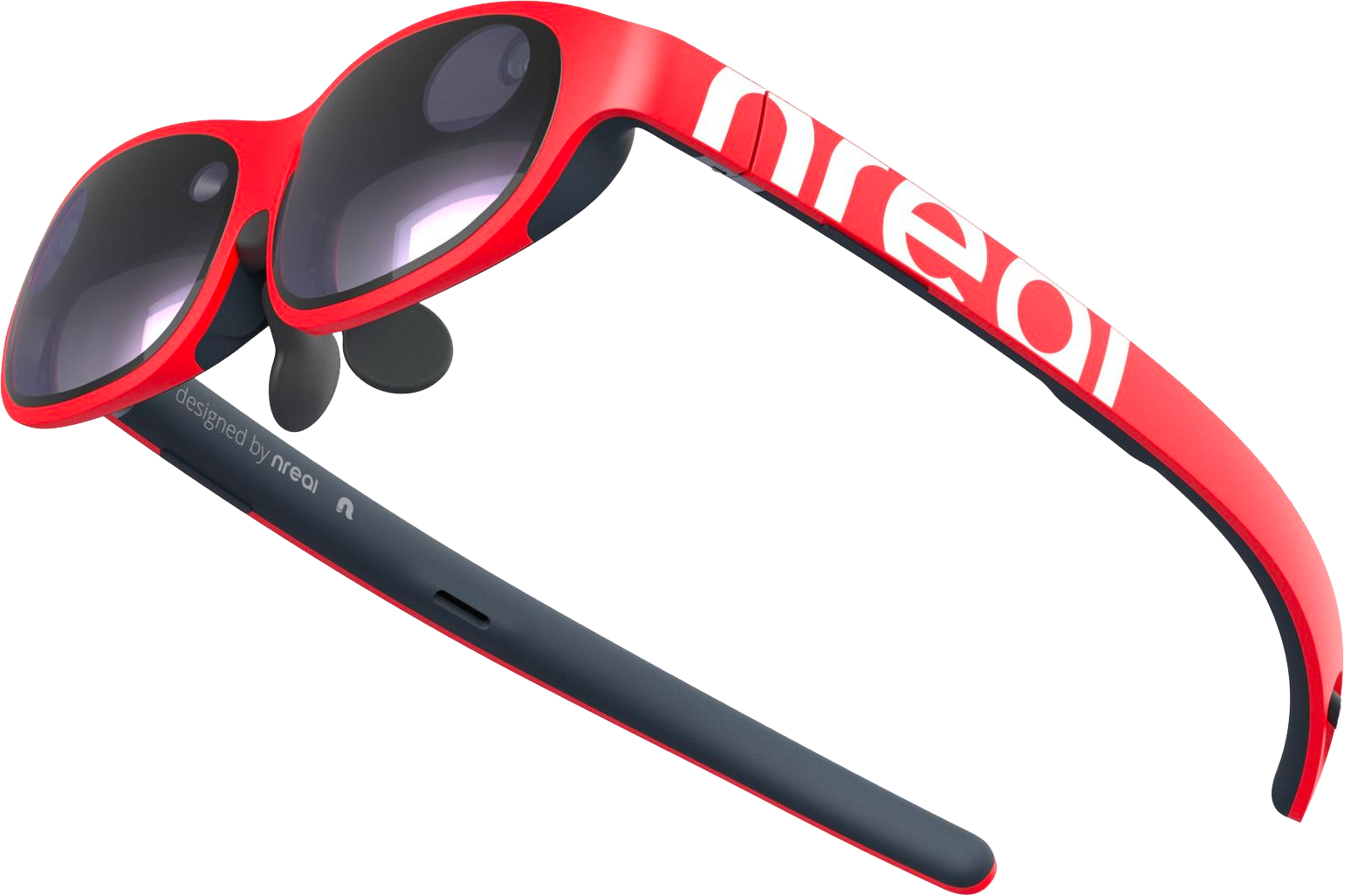 AR-glasses Nreal in red