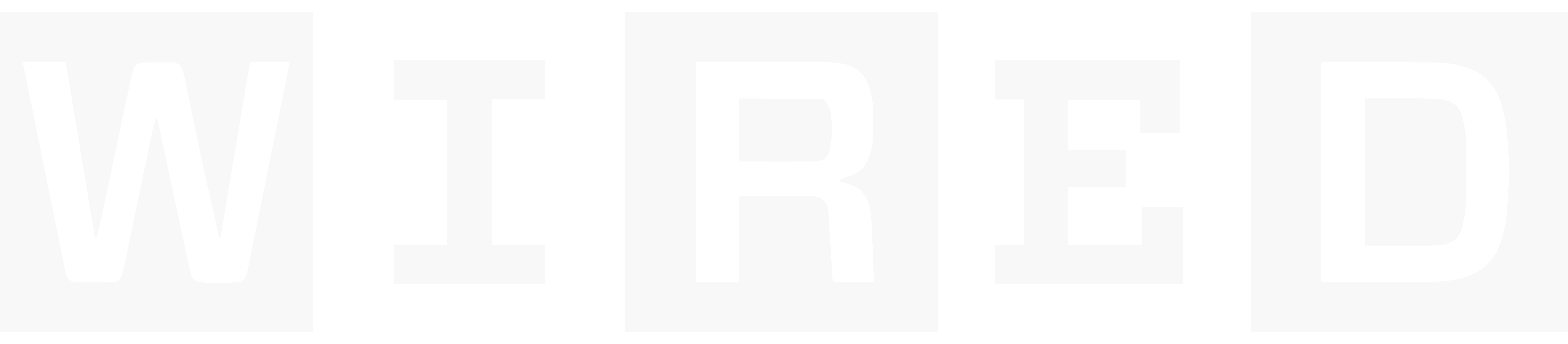 A Wired logo, all text.