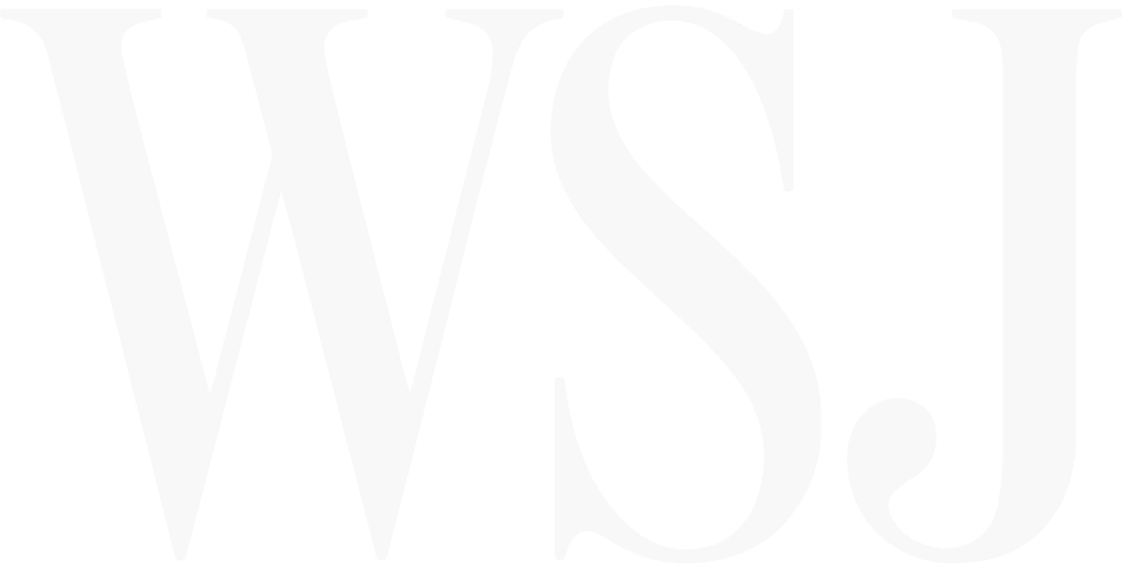 "A Washington Street Journal that says ""WSJ""."