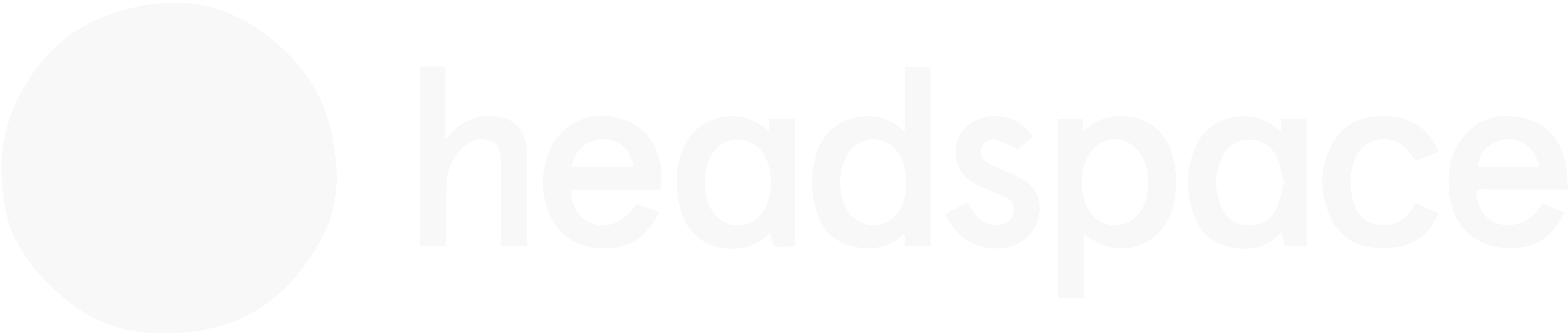 """A headspace logo that says """"headspace"""" with a white circle to the left."""